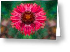 Fuscia Queen Greeting Card