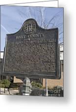 Ga-73-4 Hart County Greeting Card