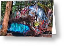 Gaffiti In The Candian Forest Greeting Card