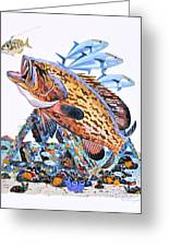 Gag Grouper Greeting Card