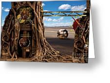 Gagilus Time Dream Greeting Card by Franziskus Pfleghart