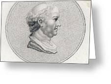 Gaius Cilnius Maecenas  Roman Statesman Greeting Card