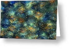 Galaxies  Greeting Card by Betsy Knapp