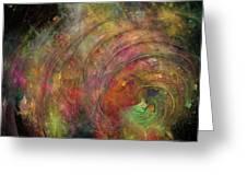 Galaxy 34g21a Greeting Card