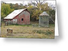 Galena Barn #17 Greeting Card
