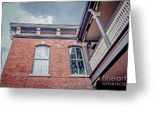 Galena's Architecture  Greeting Card