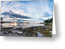 Galiano Panorama Greeting Card