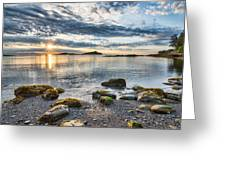 Galiano Sun Star Greeting Card