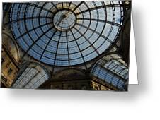 Galleria  In Milan Greeting Card