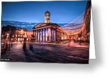 Gallery Of Modern Art Glasgow Scotland Greeting Card