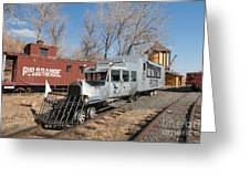 Galloping Goose 7 In The Colorado Railroad Museum Greeting Card