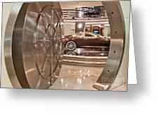 The Vault - Aston Martin Greeting Card
