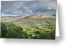 Galty Mountains 1 Greeting Card