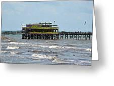 Galveston The Sv Greeting Card