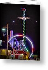 Galveston Pleasure Pier Greeting Card
