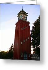 Gananoque Clock Tower Greeting Card
