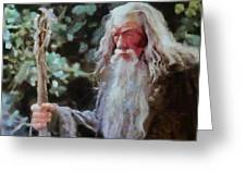 Gandalf The Grey Not Moses Mom Greeting Card