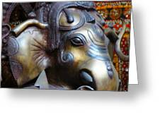 Ganesh Bodhi Greeting Card