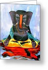 Ganesh Rupami Greeting Card