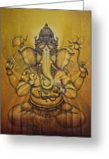 Ganesha Darshan Greeting Card