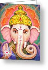 Ganesha's Blessing Greeting Card