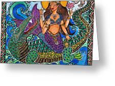 Ganga Greeting Card by Melissa Cole