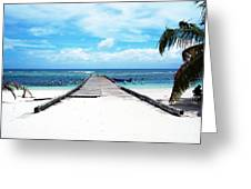 Gangplank Of Perfection Greeting Card