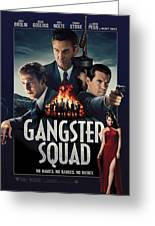 Gangster Squad Greeting Card