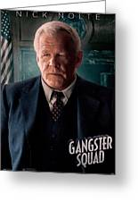 Gangster Squad Nolte Greeting Card