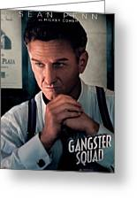 Gangster Squad Penn Greeting Card