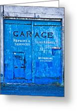 Garage Doors Photograph By Mick House