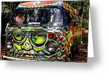 Garcia Vw Bus Greeting Card