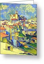Gardanne By Cezanne Greeting Card