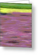 Garden Abstract Greeting Card