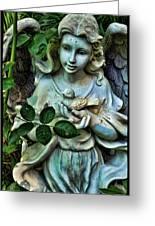 Garden Angel Greeting Card