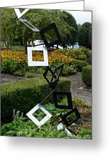 Garden Art Greeting Card by Ella Char