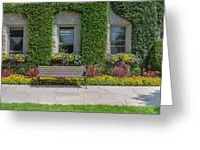 Garden At Niagara Parks School Greeting Card