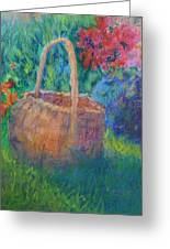 Garden Basket Greeting Card