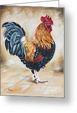 Garden Center's Rooster Greeting Card