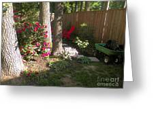 Garden Cleanup Greeting Card