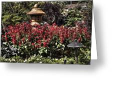 Garden Color At Woodward Park 22f Greeting Card