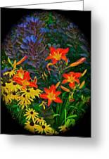 Garden Color Delight Greeting Card