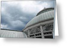 Garden Conservatory Greeting Card