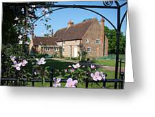 Garden  Cottage Greeting Card by Stephen Norris
