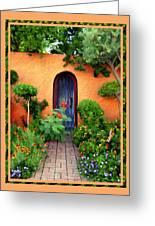Garden Delights Mesilla Greeting Card