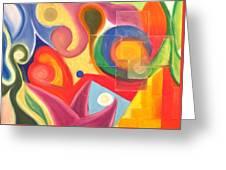 Garden Dreams Greeting Card