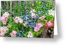 Garden Fence Greeting Card