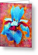Garden Fiesta Greeting Card by Moon Stumpp