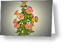 Garden Flowers 6 Greeting Card