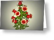 Garden Flowers 8 Greeting Card